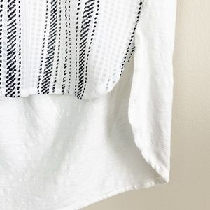 Anthropologie Tops - Anthropologie Postmark Egress Splitneck Tunic Tee